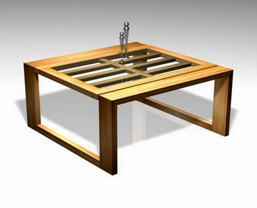 Coffee Table Bunaken Slats